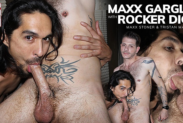 Maxx Gargles With Rocker Dick